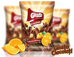 Combinația teribilă de ciocolată și #portocale grecești transformă #pufuleții #Gusto în cei mai buni pufuleți dulci. Notele de portocală dau un efect revigorant ciocolatei cu lapte fine, oferind o delicioasă gustare dulce.