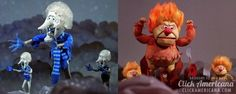 heat miser snow miser   Heat Miser & Snow Miser: The Year Without a Santa Claus (1974)