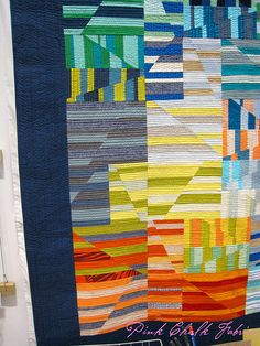 Spring 2012 Quilt Market - this may have just been my most favorite new pattern at market - by Carolyn Friedlander.