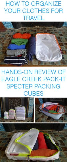 Eagle Creek Pack-It Specter Cubes Review — The Perfect Travel Tool For Keeping All Your Clothes Organized