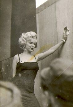 Marilyn Monroe in Korea, February 1954
