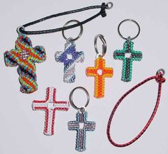 craft lace keychain instructions