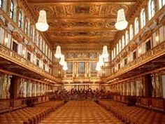 Musikverein in Vienna, Austria. Home to the Vienna Philharmonic. Little Country Girls, Golden Hall, Vienna Philharmonic, Lecture Theatre, Vienna State Opera, Vienna Austria, Concert Hall, Opera House, The Good Place