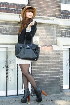 lita Jeffrey Campbell boots and outfit