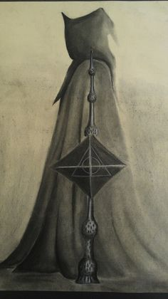 Featured Fan Art of the Week: 'The Deathly Hallows' by Brooke | MuggleNet