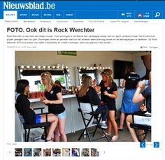 Nieuwsblad publication - Yves Rocher Belgium - Rock Werchter