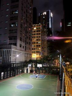 City Basketball. Hong Kong, April 2017. Hong Kong, My Photos, Tennis, Basketball Court, City, Cities