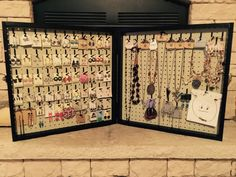 Hey, I found this really awesome Etsy listing at https://www.etsy.com/listing/221133742/almond-portable-vendor-jewelry-display