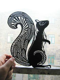 Papercuts make great design templates for stencils, masks for solarfast film and even silk painting Kirigami, Paper Cutting, Cut Paper, Stencils, Paper Art, Paper Crafts, Tatoo Art, Tattoo, Illustration