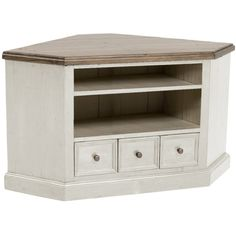 Furniture. Simple White And Brown Painted Low Corner Wooden Tv Cabinet As Well As Media Storage Furniture Plus Sauder Furniture Tv Stands. Affordable Home Corner Tv Cabinet Ideas On A Budget