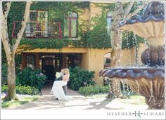 Vintner's Inn Wedding Photography – Santa Rosa, Ca Indoor Ceremony, Water Features In The Garden, Wedding Vendors, Weddings, Chapel Wedding, Wedding Videos, California Wedding, Wine Country, Wedding