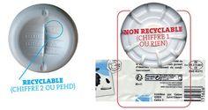Toutes les bouteilles en PET opaque se disent recyclables, ce qui est faux.
