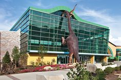 Children's Museum in Indianapolis. I have a dinosaur lover that needs to go here.