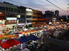 Best pasar malam night markets in KL