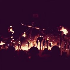 Up Helly Aa fire festival (Scotland)  http://www.uphellyaa.org/about-up-helly-aa/history