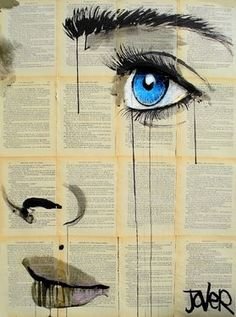 I am amazed by the detailed design of eyes so appreciate this..... ofcourse, Saatchi Online Artist Loui Jover; Drawing, believe #art