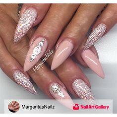 Sexy Stilettos by MargaritasNailz via Nail Art Gallery #nailartgallery #nailart…