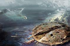 Manmade Island, Daniel Dociu