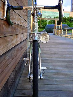 Toei - head on view Vintage Bikes, Retro Vintage, Touring Bike, Cycling Art, Wind Chimes, Goblin, Bicycles, Gallery, Outdoor Decor