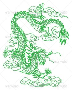 chinese dragon - Famous Last Words Small Dragon Tattoos, Chinese Dragon Tattoos, Anime Outfits, Chinese Zodiac Dragon, Arrow Tattoo, Oriental, Dragon Illustration, Chinese Cartoon, Tatoo