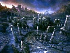 Kid Icarus: Uprising - Temple Ruins