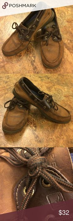 Sperry Leather mens shoes Great condition leather Sperry. Size 9 m Sperry Shoes Boat Shoes