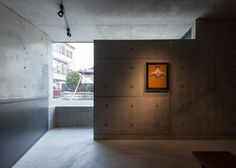 Gaze house in Japan also contains an art gallery