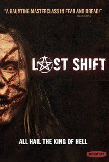 """""""Last Shift"""" rented from RedBox 11-2015"""