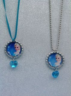 Frozen Elsa Charm Necklace / Children Jewelry / by PrincessMode, $6.00