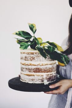 fig + salt cake | styling by @steph_somebody for local gatherings. Photograph by…