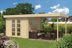 Die 13 Besten Bilder Von Flachdach Gartenhaus Build House Covered