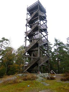 Aussichtsturm auf dem Aboda Klint Landscape Structure, Landscape Architecture, Forest Hotel, Tower Building, Water Tower, Netherlands, Urban, Design, Mountains