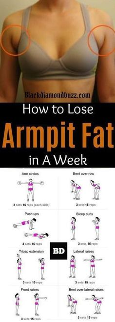 Arm fat workout  How to get rid of armpit fat and underarm fat bra in a week .These arm fat exercises will make you look sexy in your strapless dress and your friends will be jealous. Try it, you do not have anything to lose execept than that subborn upper body fat! #howtolosebellyfatfast by megan