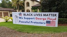 Black Lives Matter sign sparks controversy in Bella Collina community in Lake County - Orlando Sentinel Marshal Arts, Raised Fist, Lawn Sign, Seriously Funny, Lake View, Real Estate Marketing, Life Is Beautiful, Over The Years