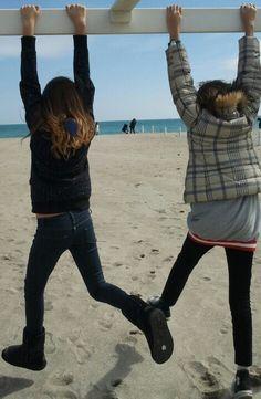 Con mia sorella...  •.•