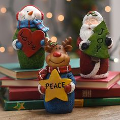 Hurry in because you can get these adorable Christmas Characters for your home for the holidays!