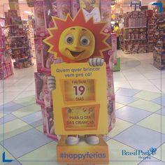 O Dia das Crianças está chegando.  Vem curtir esse período tão gostoso na Ri Happy do BPS!