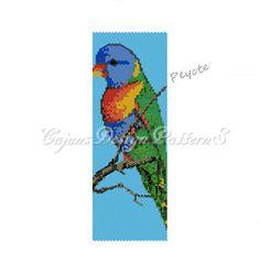 Peyote PatternCOLORFUL RAINBOW BIRD  by CajunsDesignPatternS, $5.50