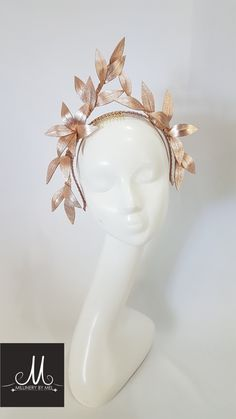 A selection of unique ready made fascinators and headwear available to purchase. Fascinator Headband, Flower Headpiece, Headdress, Fascinators, Headpieces, Cocktail Hat, Fancy Hats, Hat Shop, Leather Flowers