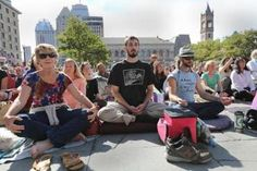 Thich Nhat Hanh visits Boston - The Boston Globe. Thousands meditate with Zen Buddhist monk  Renowned activist's message of nonviolence, mindfulness suffuses Copley Square