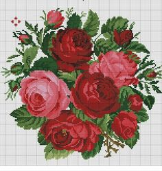 Thrilling Designing Your Own Cross Stitch Embroidery Patterns Ideas. Exhilarating Designing Your Own Cross Stitch Embroidery Patterns Ideas. Cross Stitch Rose, Cross Stitch Flowers, Cross Stitch Charts, Cross Stitch Designs, Cross Stitch Patterns, Loom Patterns, Learn Embroidery, Cross Stitch Embroidery, Embroidery Patterns