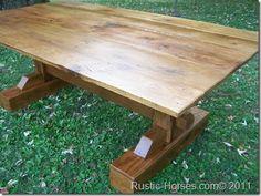 Dining table. Custom built with reclaimed barn wood