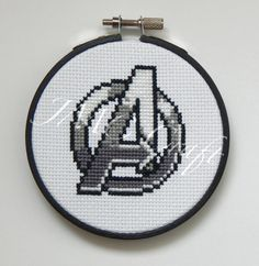 Avengers Symbol Cross Stitch