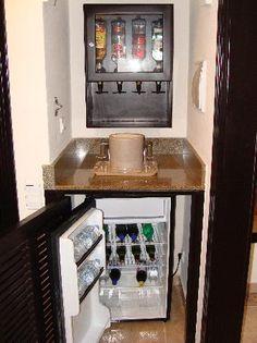 In Room Liquor Dispenser Drinks All Inclusive Mexico