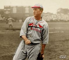 Grover Alexander - color by Carl St Louis Baseball, St Louis Cardinals Baseball, Baseball Star, Stl Cardinals, Baseball Photos, Baseball Cards, Mlb Uniforms, Baseball Uniforms, Famous Baseball Players