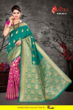 47f1fe4856 Sitka Gruh Laxmi-281 Saree (4 pcs catalog )