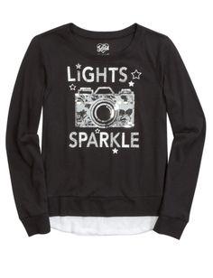1c519758a15e Embellished Icon Sweatshirt Shop Justice