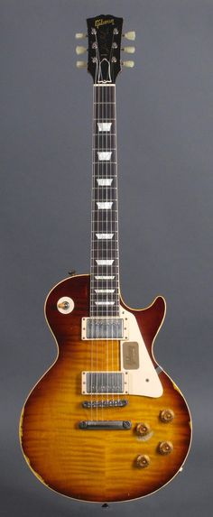Gibson Custom Joe Perry 1959 Les Paul Reissue - Aged - Signed - Number 29