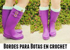 Bordes para botas, (los llaman puños pero aquí en España puños significa que estan cerca de las ...