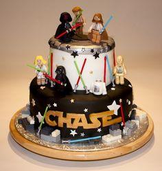 Yummers.ca: Star Wars Lego cake